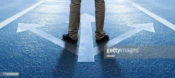 boy/man about to make a decision - choice stock pictures, royalty-free photos & images