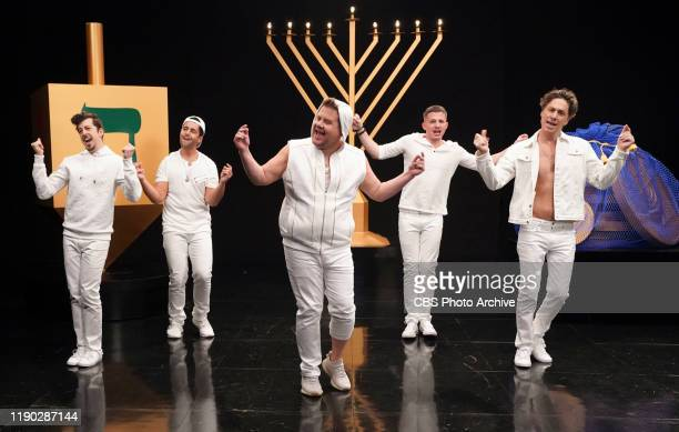Boys 2 Menorah with Charlie Puth, Zach Braff, Christopher Mintz-Plasse and Josh Peck -- James, Charlie, Zach and Josh form a boy band and sing a...