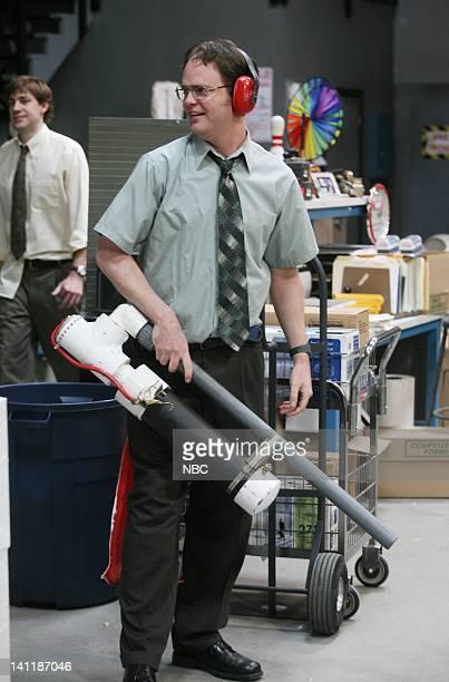 THE OFFICE Boys and Girls Episode 15 Aired Pictured John Krasinski as Jim Halpert and Rainn Wilson as Dwight Schrute Photo by Dean Hendler/NBCU Photo...
