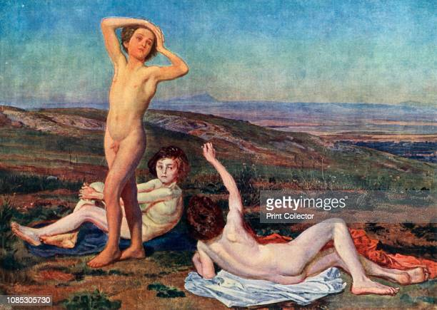 Boys Basking in the Sun' mid19th century Naked boys in a landscape Alexander Ivanov studied at the Imperial Academy of Arts in St Petersburg under...