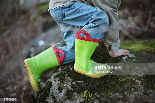 A boy's boots