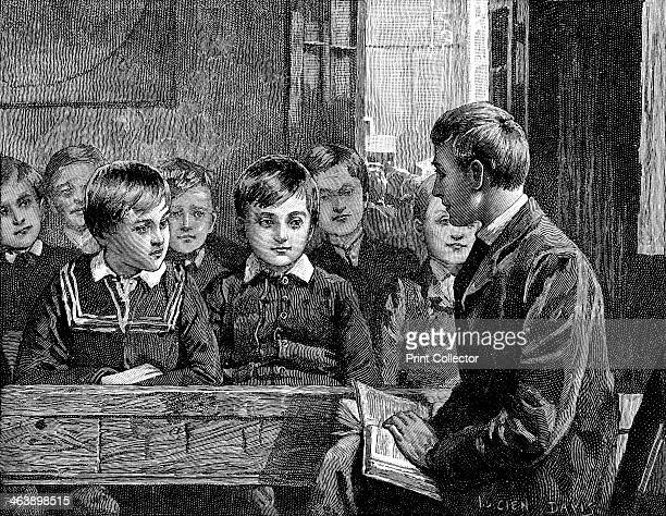 Boy's class at an American Sunday School 1890 The Sunday School movement was started by Robert Raikes in Gloucester England in 1780 Wood engraving