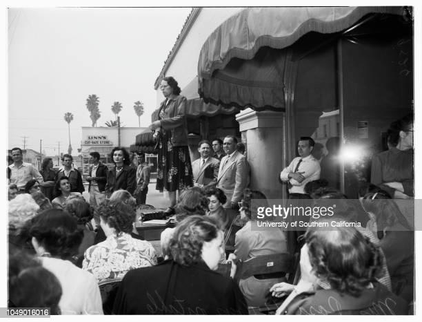 Boys Club of Hollywood Little Sister Revue 2 April 1952 Bradford Stone 8 yearsBarbara Stone 6 1/2 yearsLeslie Goldstone 7 yearsElliott Goldstone 12...