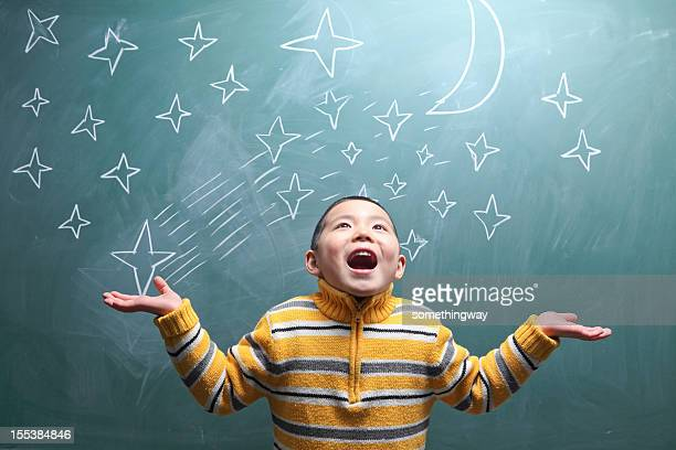 boy's dream - mini moon stock pictures, royalty-free photos & images