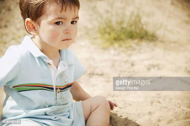 A Boy's Expression
