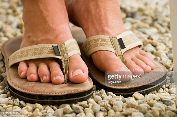 boy's feet - male feet stock photos and pictures