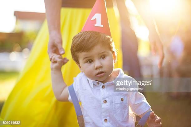 Garçon Premier anniversaire