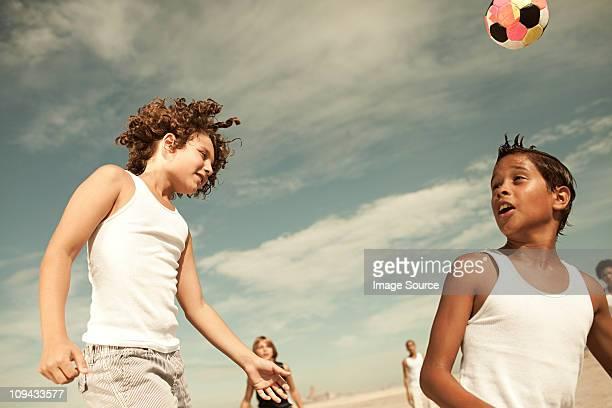Jungen Richtung football