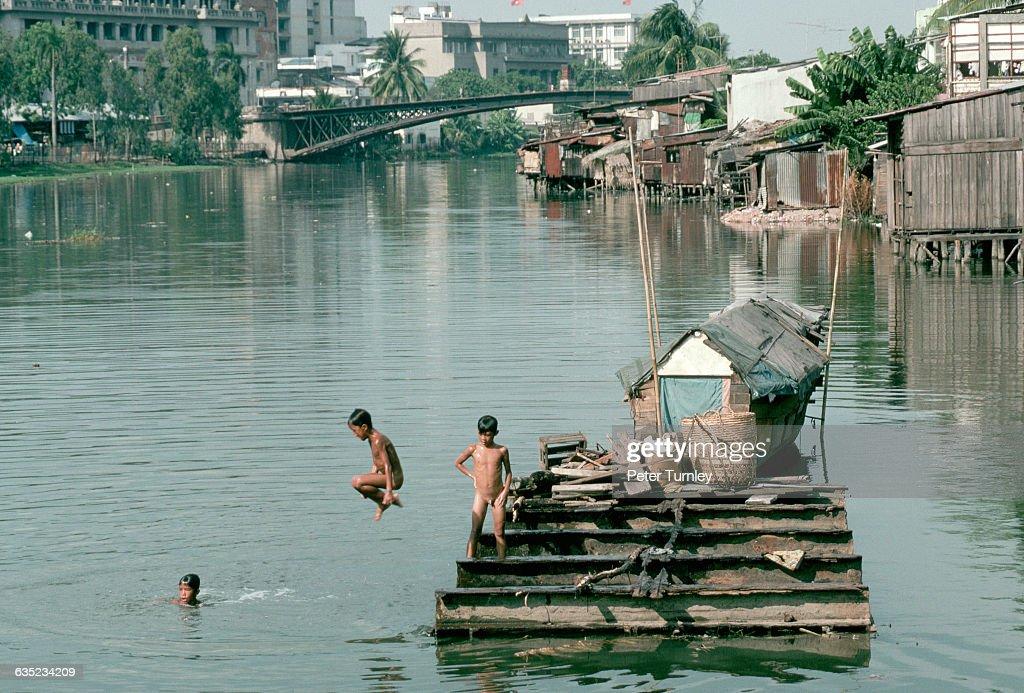 Azov nude boys swimming
