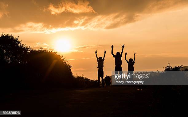 Boys jumping, Araku valley