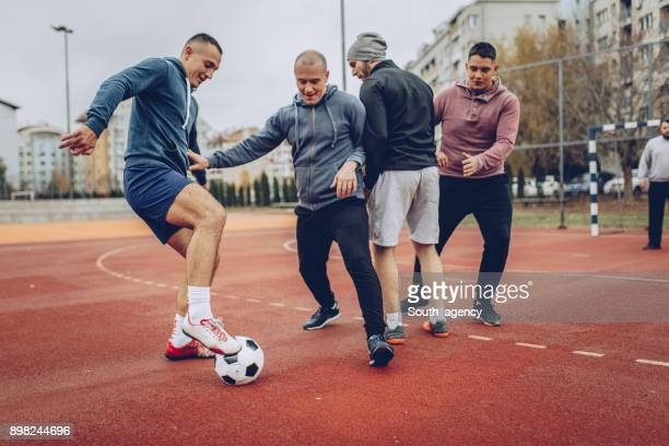 Boys love soccer