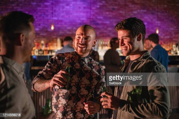 boys night out - small group of people stock pictures, royalty-free photos & images