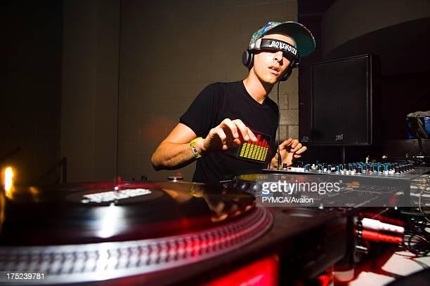 DJ Boys Noize at club night Wax On at Stylus Leeds University Union