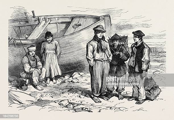 Boys Of The Claddagh Galway 1873