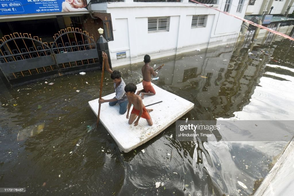 NDRF Continues Rescue And Evacuation Operations In Patna Floods : News Photo