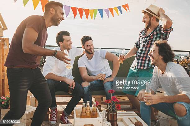 Boys on a party