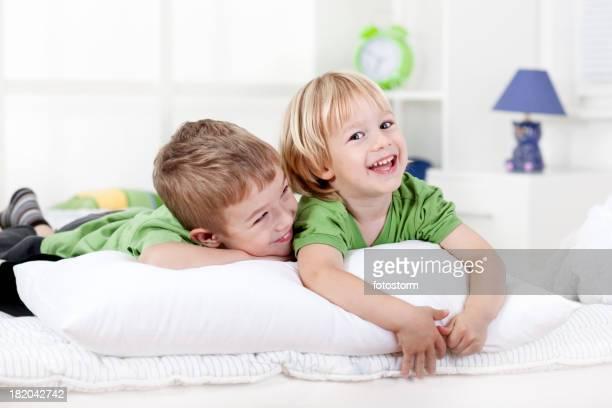 Boys on the pillow