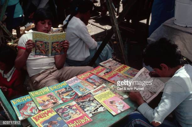 Boys Reading Comic Books