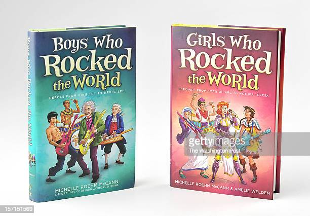 Boys Who Rocked the World Heroes from King Tut to Bruce Lee by Michelle Roehm McCann and Girls Who Rocked the World Heroines from Joan of Arc to...