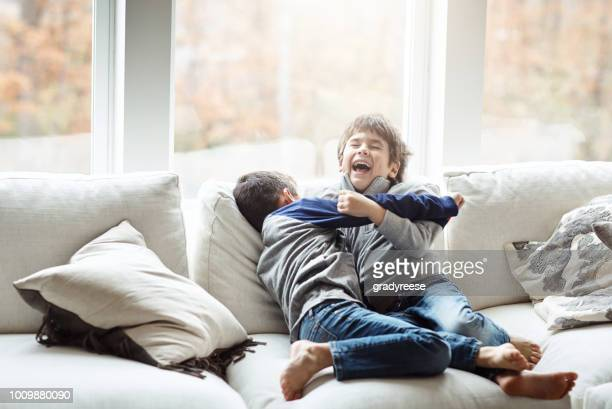 boys will be boisterous - wrestling stock pictures, royalty-free photos & images