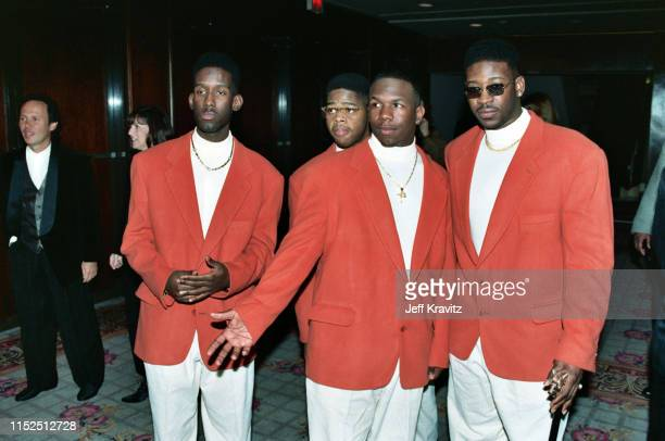 Boyz II Men at The 1993 Rock And Roll Hall of Fame at The Century Plaza on January 12th, 1993 in Los Angeles, CA.