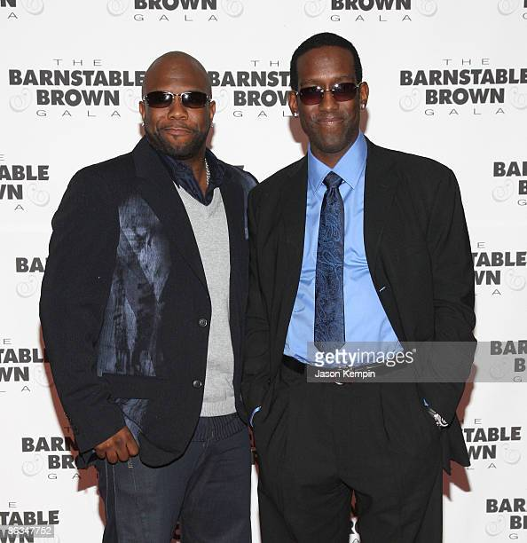 Boyz II Men attends the Barnstable Brown Party Celebrating The 135th Kentucky Derby at Barnstable Brown House on May 1 2009 in Louisville Kentucky