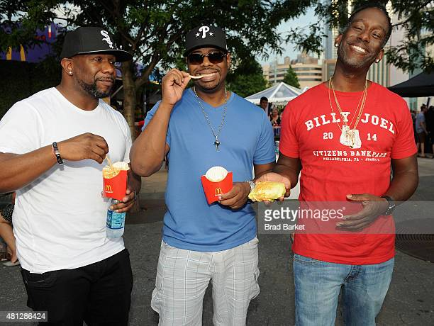 Boyz II Men attends the McDonald's Presents The #BlogHer15 Closing Party on July 18 2015 in New York City