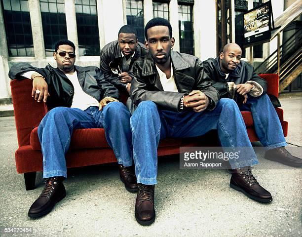 Boyz II Men in Los Angeles in 1997