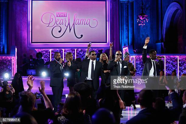 Boyz II Men performs onstage at VH1's 'Dear Mama' Event on May 3 2016 in New York City Tunein to VH1 on Sunday May 8 2016 at 9pm to watch 'Dear Mama'