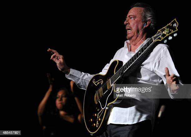 Boz Scaggs performs live for fans at the 2014 Byron Bay Bluesfest on April 18 2014 in Byron Bay Australia