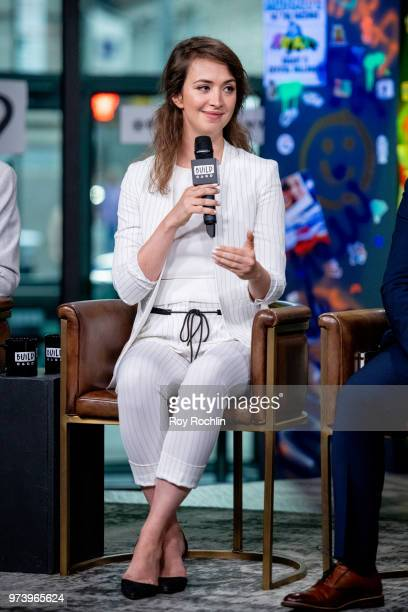 Bozhanka Vitanova discusses One Young World with the Build Series at Build Studio on June 13 2018 in New York City