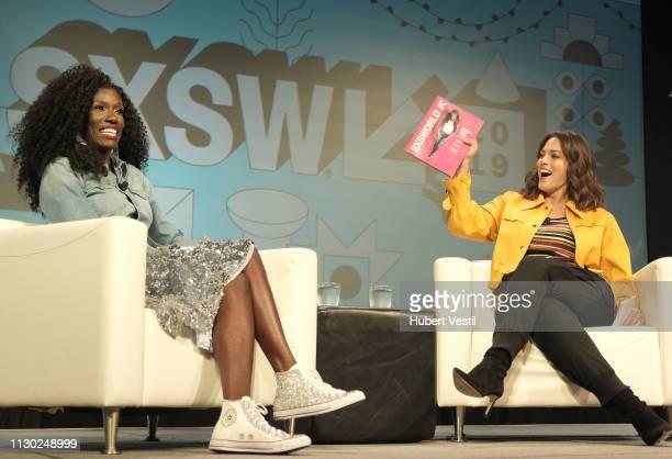 Bozoma Saint John and Ashley Graham speak onstage at Convergence Keynote Bozoma Saint John during the 2019 SXSW Conference and Festivals at Hilton...
