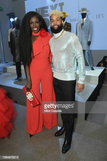 Bozoma Saint John and Odell Beckham Jr. Attend Harlem's Fashion Row Special Event during New York Fashion Week: The Shows at Gallery II at Spring...