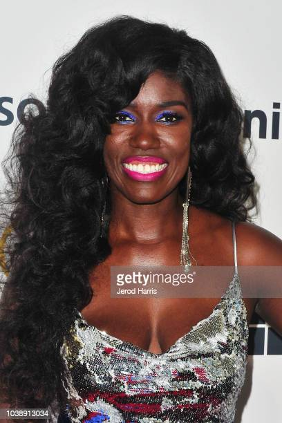 Tai Beauchamp arrives at the 12th Annual ADCOLOR Conference And Awards at JW Marriott Los Angeles at LA LIVE on September 23 2018 in Los Angeles...