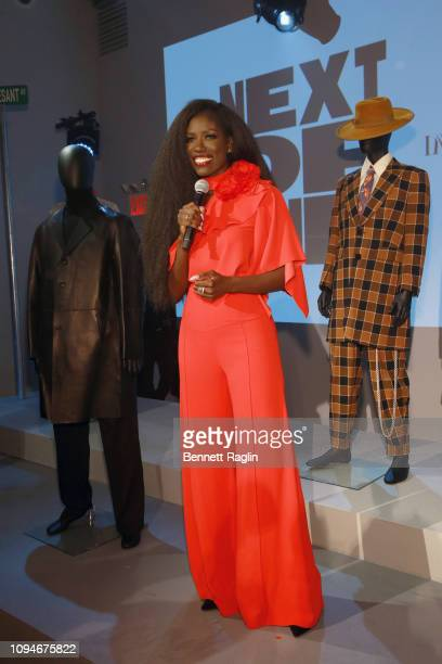 Bozoma Saint John attends IMG And Harlem Fashion Row Host Next Of Kin An Evening Honoring Ruth E Carter at Spring Studios on February 6 2019 in New...