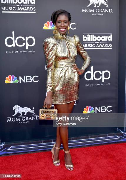 Bozoma Saint John attends the 2019 Billboard Music Awards at MGM Grand Garden Arena on May 1 2019 in Las Vegas Nevada