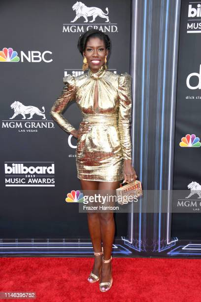 Bozoma Saint John attends the 2019 Billboard Music Awards at MGM Grand Garden Arena on May 01 2019 in Las Vegas Nevada