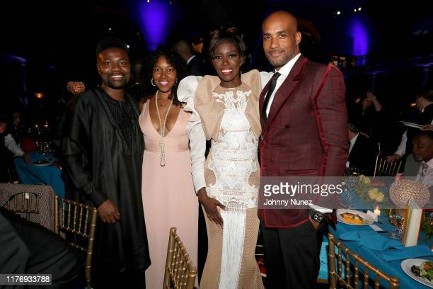 Bozoma Saint John Boris Kodjoe and guests attend The The Africa America Institute 35th Annual Awards Gala 2019 at American Museum of Natural History...