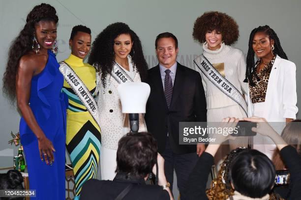 Bozoma Saint John Miss Universe Zozibini Tunzi Miss USA Cheslie Kryst Phil DiIanni Miss Teen USA Kaliegh Garris and Miss America 2019 Nia Franklin...