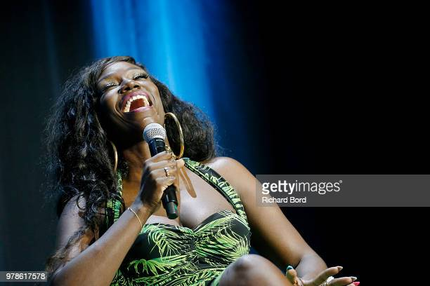 Bozoma Saint John speaks onstage during the WWE session at the Cannes Lions Festival 2018 on June 19 2018 in Cannes France