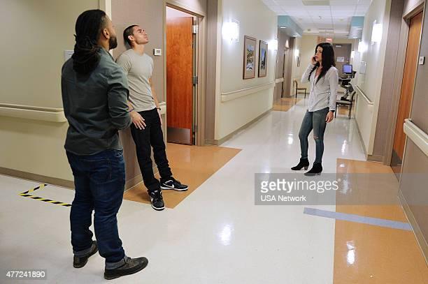 GRACELAND BPositive Episode 301 Pictured Brandon Jay MacLaren as Dale DJ Jakes Manny Montana as Joe Johnny Tuturro Vanessa Ferlito as Charlie DeMarco