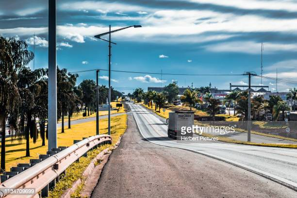 br-163-lucas do rio verde, mato grosso, mt, brazil - cuiabá stock photos and pictures