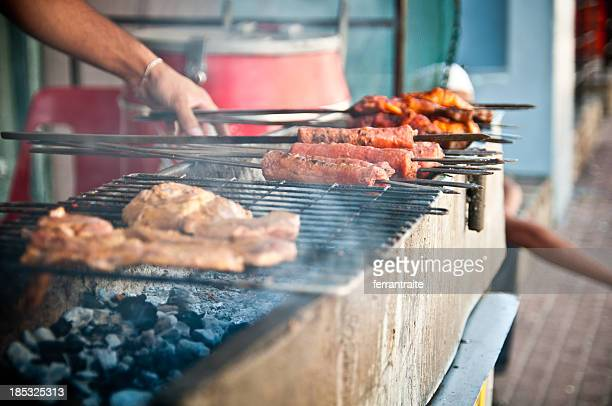 braai - south africa stock pictures, royalty-free photos & images