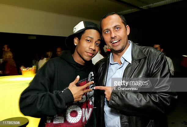 Brabdon T Jackson and producer Bob Teitel during FoxSearchlight Pictures Present the Los Angeles Premiere of Roll Bounce After Party at The Bridge at...