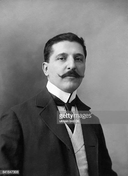 Bracco Roberto writer Italy*18611943Portrait Photographer L d'Amelio 1901Vintage property of ullstein bild