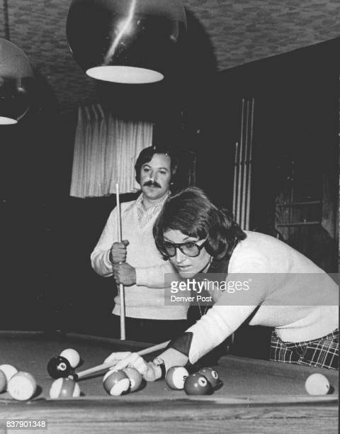 Brad And Judy Leach Relax At Pool Table Judy says she was bumper pool champion of Alma Mich Boulder The woman who brought him to justice sat in the...