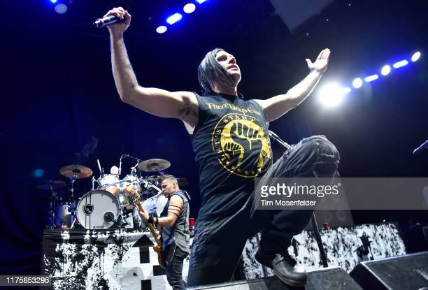 Brad Arnold of Three Doors Down performs at Concord Pavilion on September 18, 2019 in Concord, California.