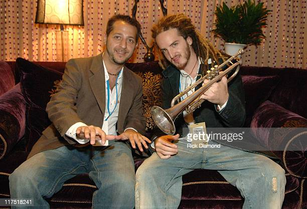 Brad Berman and Emiliano Torres during 2006 Billboard Latin Music Conference and Awards Backstage Creations Talent Retreat Day 2 at Seminole Hard...