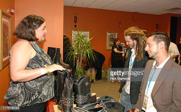 Brad Berman Emiliano Torres and Sponsors during 2006 Billboard Latin Music Conference and Awards Backstage Creations Talent Retreat Day 2 at Seminole...