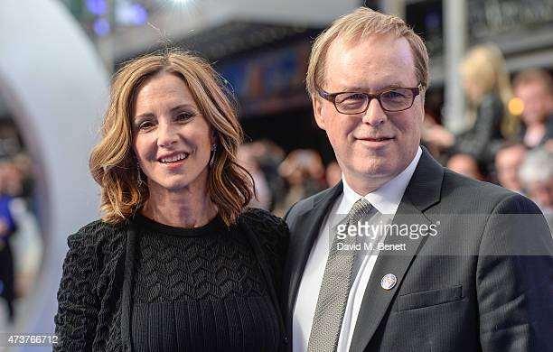 Brad Bird attends the UK Premiere of Tomorrowland at Odeon Leicester Square on May 17 2015 in London England